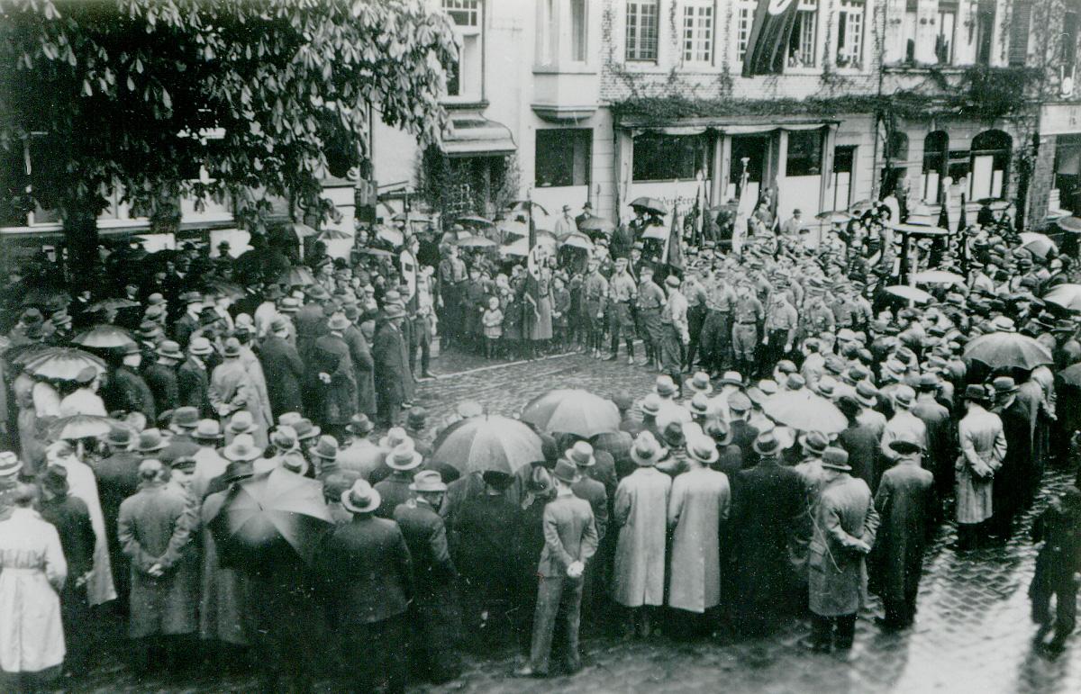 1942: SA-Aufmarsch in Telgte