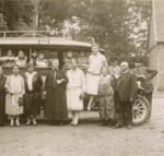 Juli 1927 Ausflug der Familien Auerbach nach Handorf