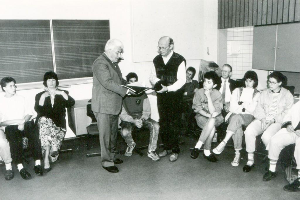 Juni 1988 Alfred Auerbach zum erstenmal in Telgte