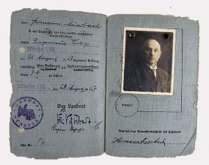 Führerschein von Hermann Auerbach