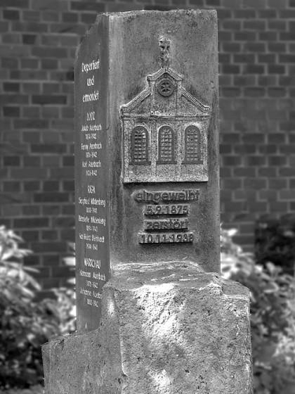 Gedenkstele Telgte, Königsstraße