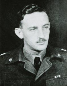 Hans Milbenberg als Oberst der israelischen Streitkräfte