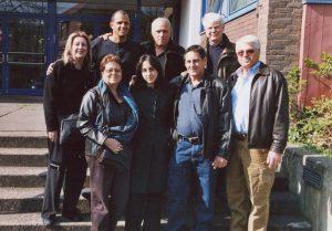 2008 Besuch in der Realschule Telgte