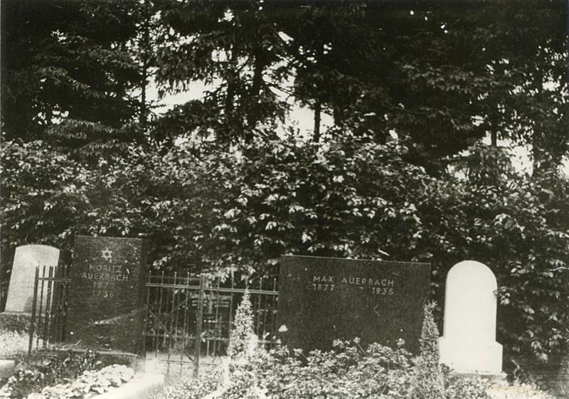 Jüdischer Friedhof Telgte, vor der Zerstörung 1942