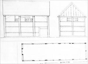 Plan der alten Synagoge Telgte