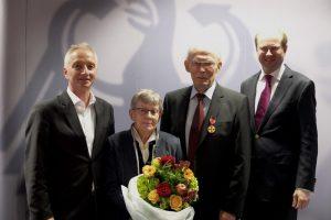 Verleihung des Bundesverdienstkreuz an Ludwig Rüter