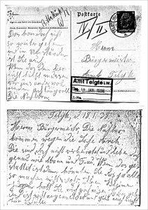 Postkarte Unger