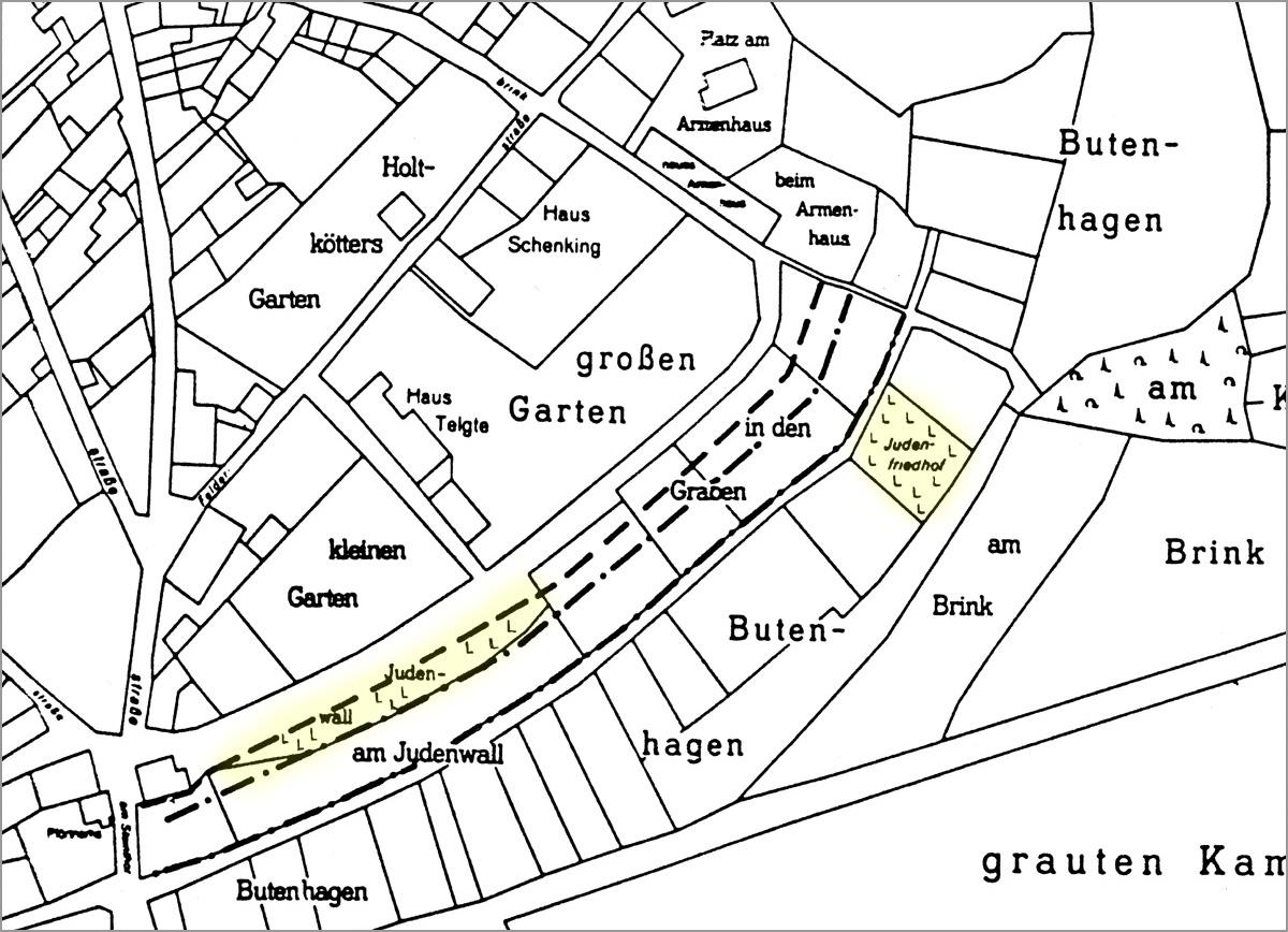Jüdische Friedhöfe Telgte