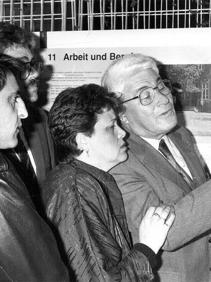 Ausstellungseröffnung 1988, Telgte