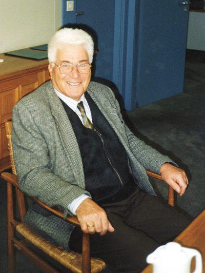 Alfred Auerbach 1988 in Telgte