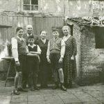 Familie Jakob Auerbach im Hof