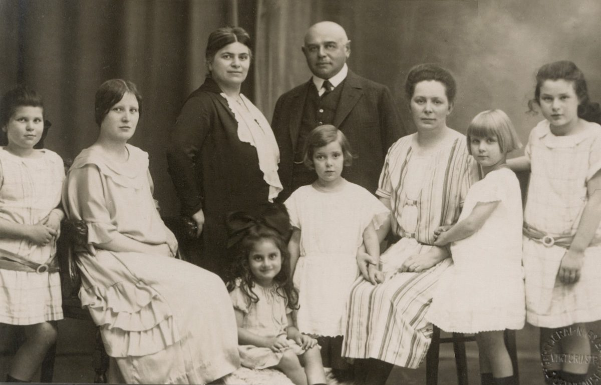 1925 Familie Auerbach in Bad Oeynhausen