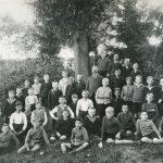 1934 Klassenfoto mit Konrektor Sube
