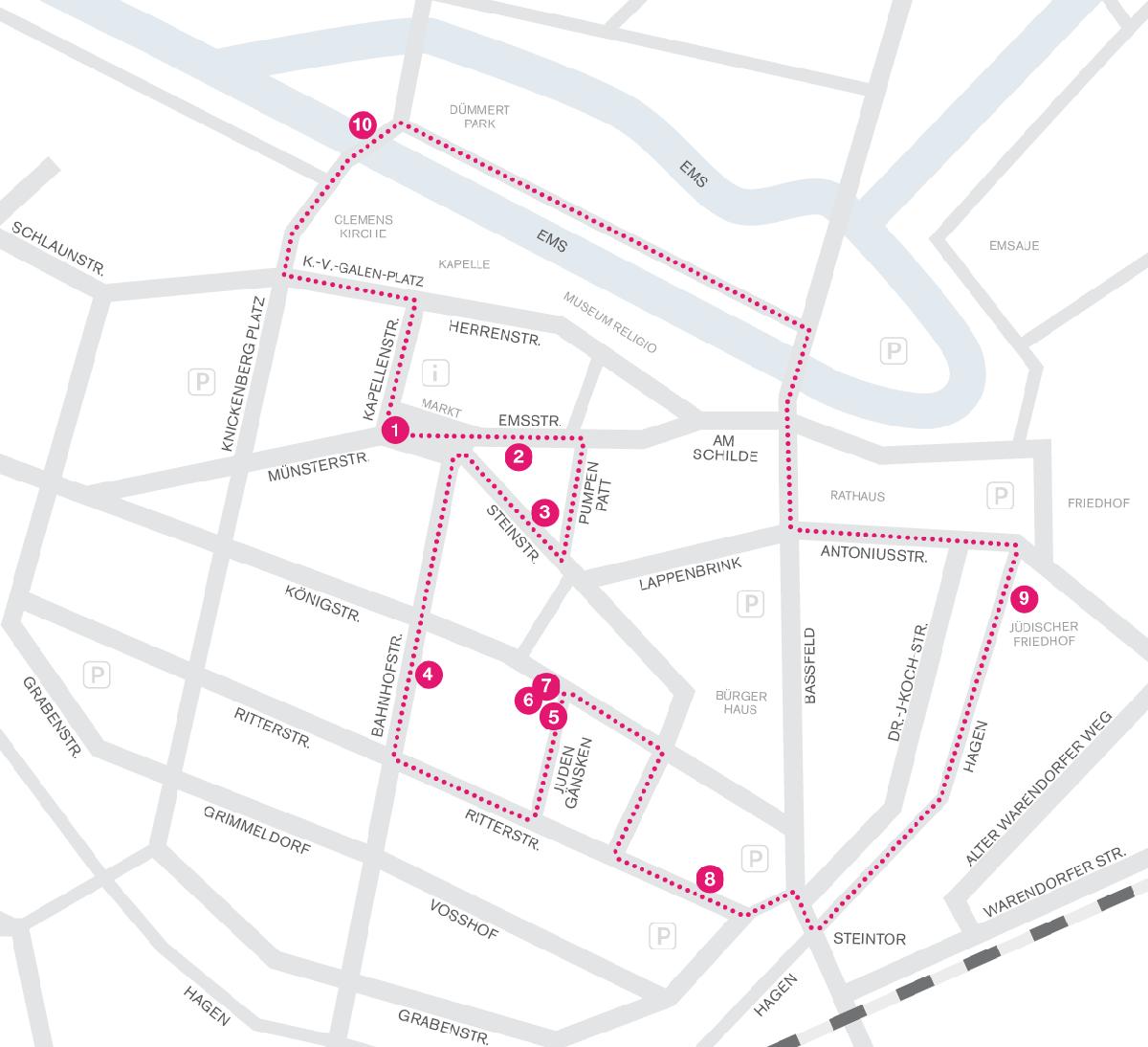 Stadtrundgang durch Telgte – Orte jüdischen Lebens
